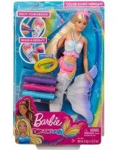 Gcg67 Barbie Dreamtopia Sihirli Renkler Denizkızı...