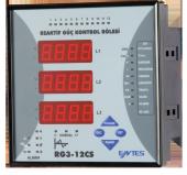 Rg3 12c Entes Reaktif Güç Kontrol Rölesi