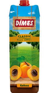 Dimes Meyve Suyu Kayısı 1lt