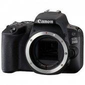 Canon Eos 200d Body (Gövde) Fotoğraf Makinesi (Siyah) (Canon Eura