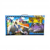 Vardem 1 64 Kutulu Pilli Kaykay Yarış Seti 78x35 Cm Eğlenceli Aktivite Oyun Setleri