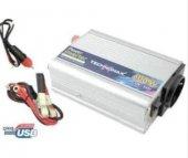 Power Inverter 600 W 12v 200v Çevirici Akü Baglantili Ve Çakmakli