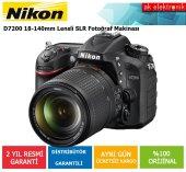 Nikon D7200 18 140mm Vr Dijital Slr Fotoğraf Makinesi
