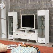 Tv Ünitesi Lcd Sehpası Ast 441451 Beyaz