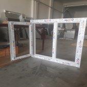 130x100 Orpen Çift Cam Tek Kanat Pencere