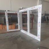 120x150 Orpen Çift Cam Tek Kanat Pencere