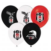Balonevi Balon Beşiktaş Lisanslı Baskılı 100 Lü