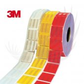 Pakkens 404. Pakkens Kırmızı Reflektif Şerit(51mmx...