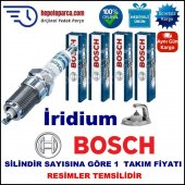 Fıat Punto 60 Cabrio 1.2i.e. (05.1997 08.1999) Bosch Buji Seti Platin İridyum (Lpg) 4 Adet