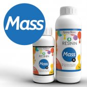 Mass 1400 Gr A+b Büyük Hacim İçin Ultra Şeffaf Epoksi Reçine