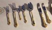 Aryıldız Çırağan Altın 89 Parça Çatal Bıçak Takımı