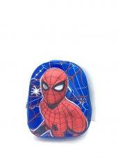 Haeja Spiderman Mavi Erkek Çocuk Sırt Çantası