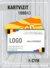 Kartvizit 350 Gr Kuse Cift Yonlü Renkli Mat Selefonlu