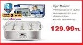 Nordica Yoğurt Makinesi 8 Cam Kaseli Dijital Panelli Zamanlayıcıl