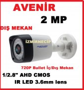 Hibrid Ahd Kamera Dış Ve İç Mekan Uyumlu Avenir Sensör 2 Megapixe
