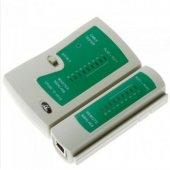 Kablo Test Aleti Rj45 Rj11 Rj12 Cat5 Cat6 Tester Cihazı