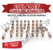 Bnc Connektör 100 Lük Poşette Eko Pakette Kaliteli...