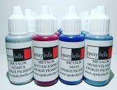 Epoksibella Metalik Epoksi Pigment 4 Renk Set