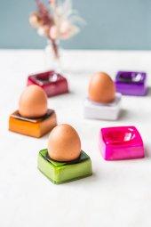 Renkli 6lı Yumurtalık Seti