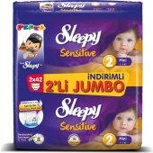 Sleepy 2li Jumbo No 2 3 6kg 84lü Sensitive Bebek Bezi