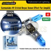 Carmaniaks H1 Cristal Beyaz Xenon Effect Far Ampülü