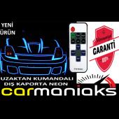 Carmaniaks Stop Çevresi Led Neon Uzaktan Kumandalı 2 Metre Mavi