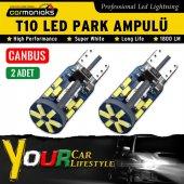 Carmaniaks 60ledli Canbus Yeni Nesil Samsung Led Park Ampülü T10