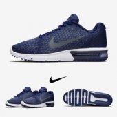 Nike Air Max Sequent 2 Günlük Ayakkabı Lacivert 852461 406