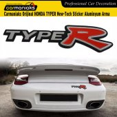 Carmaniaks Orijinal Honda Typer New Tech Sticker Aluminyum Arma
