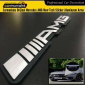 Carmaniaks Orijinal Mercedes Amg New Tech Sticker Aluminyum Arma