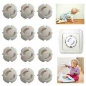Asude Kits Priz Kapağı Bebek Güvenliği 6 Lı Set...