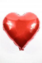 Kalp Folyo Parti Balonu 18