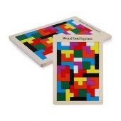 Ahşap Tetris Eğitici Oyuncak Çocuk Gelişim Oyunu