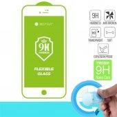 Okmore Bestsuit Tam Ekran Koruyucu İphone 7 İphone 8 Nano Beyaz