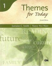 Themes For Today (Second Edition) (Reading For Today Series, Book 1)