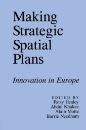 Making Strategic Spatial Plans Innovation In Europe