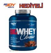 Bigjoy Whey Protein Tozu Classic 2310 Gr Çikolata Aromalı Hediyeli