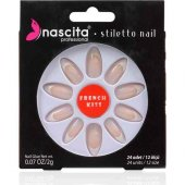Nascita Stiletto Takma Tırnak French Nails