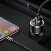 Iphone 6 Plus Araç Şarj Seti Baseus Small Screw 3....