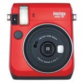 Fujifilm Instax Mini 70 Kırmızı Fotoğraf Makinesi