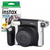 Fujifilm Instax Wide 300 Siyah Fotoğraf Makinesi Ve 20li Film