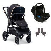 Mamas Papas Ocarro Jewel Travel Sistem Bebek Arabası Black Diamond