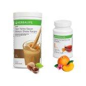 Herbalife Fındıklı Shake+şeftali Çay