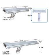 Dophın Led Lamba 250 22.5x 7.5 Cm