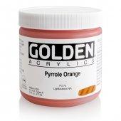 Golden Heavy Body Acrylıc 473 Ml Seri 8 Pyrrolle Orange