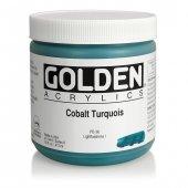 Golden Heavy Body Acrylıc 473 Ml Seri 8 Cobalt Turquoıs