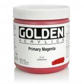 Golden Heavy Body Acrylıc 473 Ml Seri 6 Prımary Magenta
