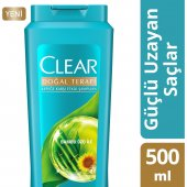Clear Şampuan Güçlü Uzayan Saçlar Chia 500 Ml