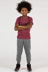 Tommy Life Dıscover Yazılı Bordo Çocuk Tshirt
