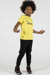 Tommy Life Dıscover Yazılı Sarı Çocuk Tshirt